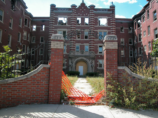 The Forest Arms Apartments Detroit