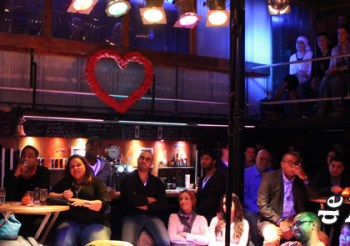 Een avond comedy slam in November!