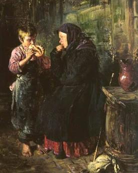 Описание картины В. Е. Маковского «Свидание»