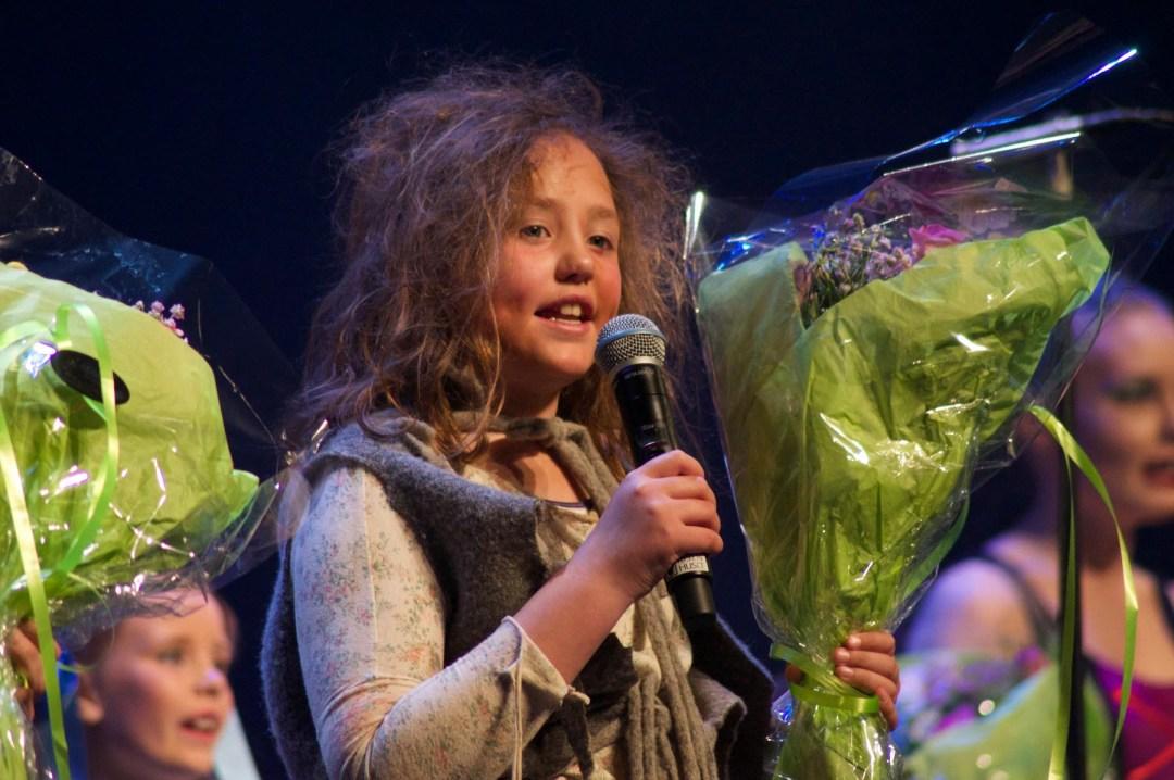 Zoé har opptrådt på musikalen i Drangedal flere ganger, her fra en av oppsetningene.