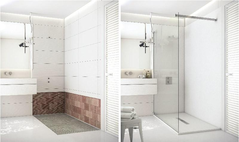 ristrutturazione bagno low cost sostituzione vasca con doccia