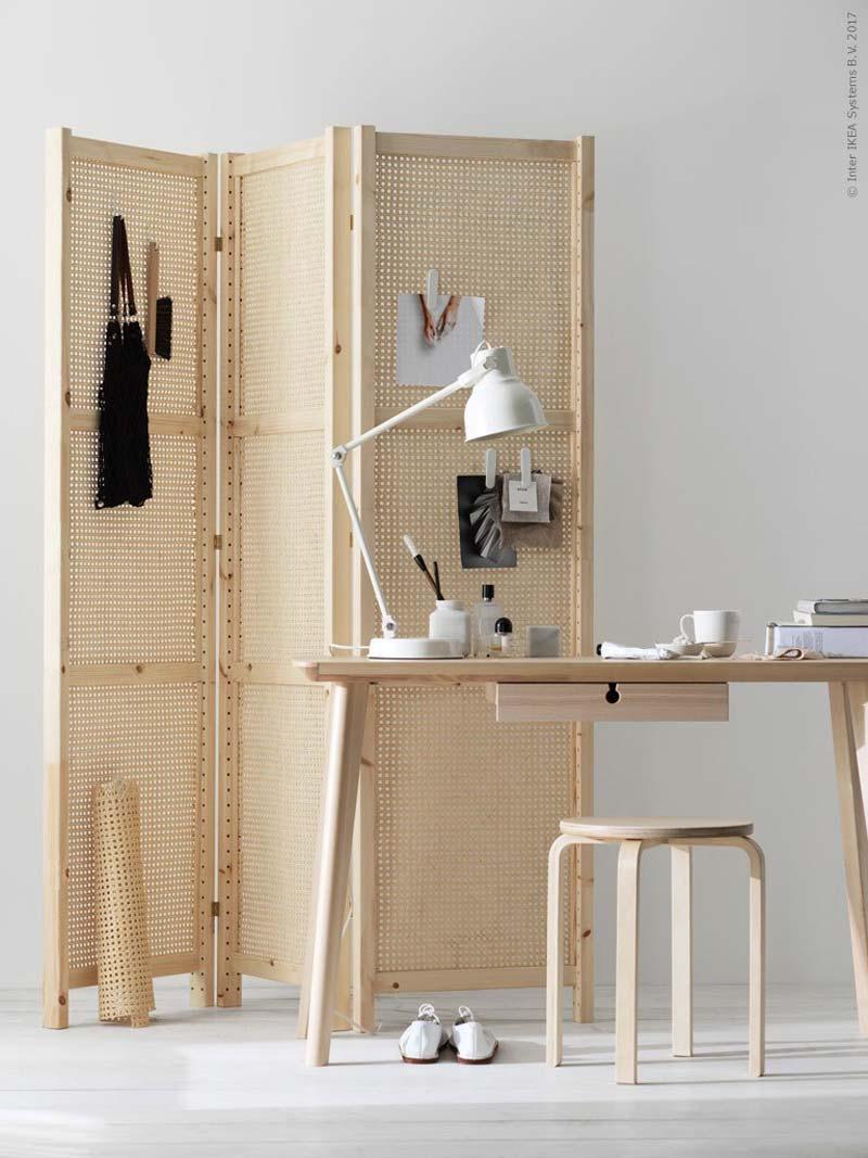 Ikea Scaffali Per Cantina.Paravento Fai Da Te In Rattan Con Montanti Ivar Di Ikea Dettagli