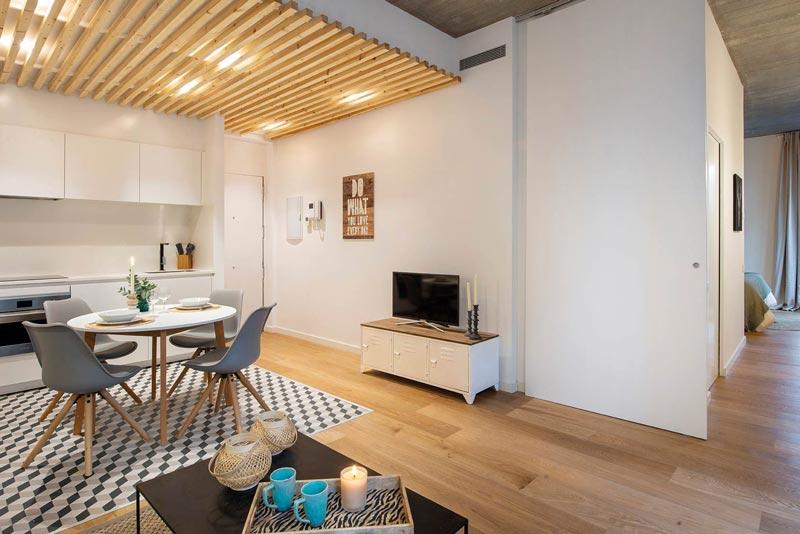 Ristrutturazione appartamento di 70 mq a torino mirafiori. Un Appartamento Di 50 Mq Con Tante Idee Da Copiare Per La Casa Al Mare Dettagli Home Decor