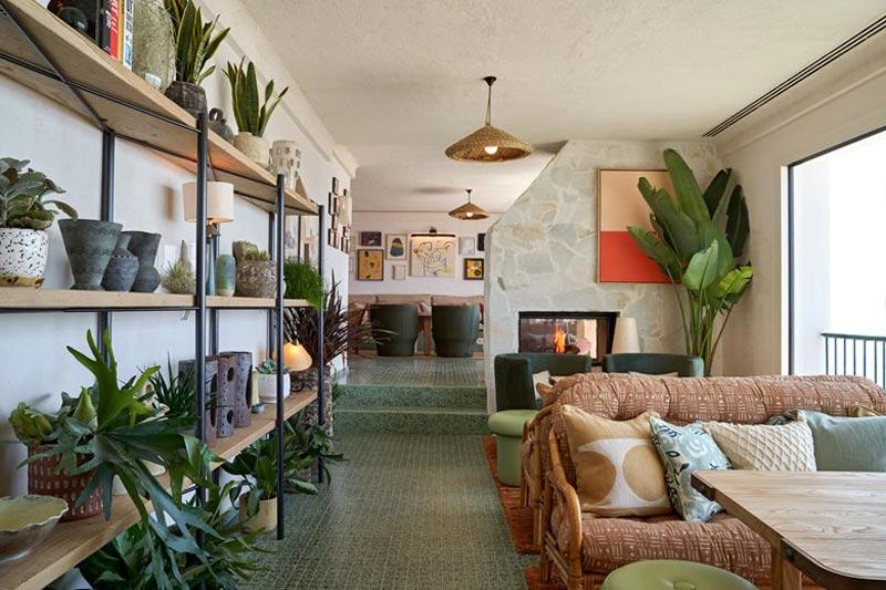 spazi comuni Hotel Little Beach House a Garraf