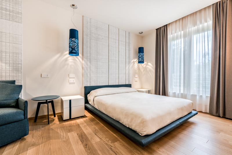 nuove camere all'Hotel Miramonti a Forte dei Marmi