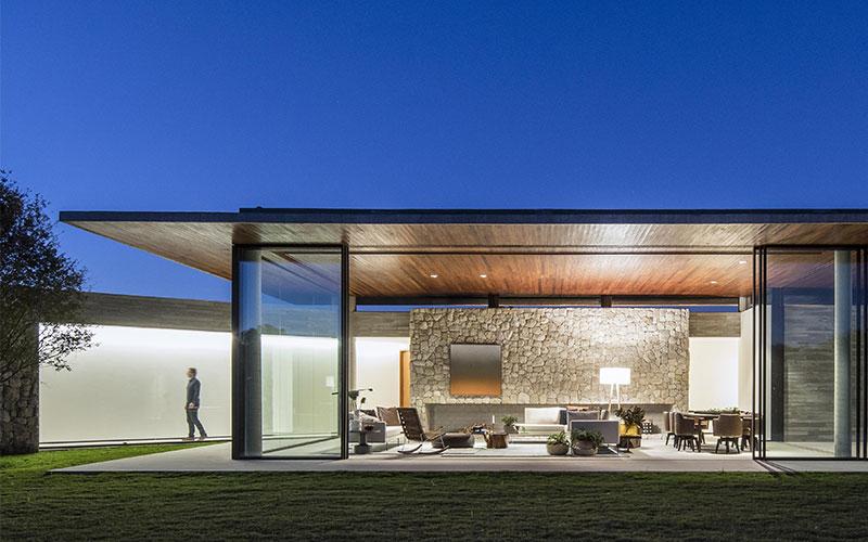 moderna casa in pietra