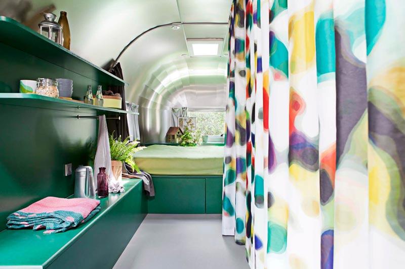 caravan Silverfield allestimento green