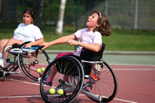 Il tennis in carrozzina di Alessandra Venturi  Detto Schietto