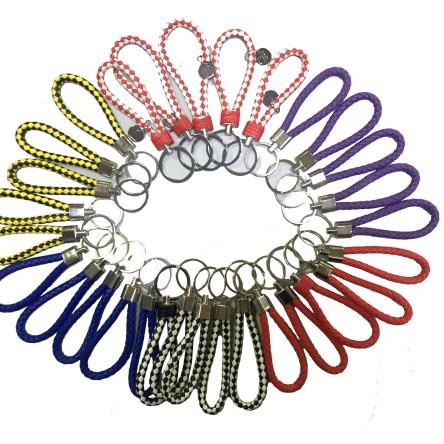 Lote 30 llaveros cordón colores
