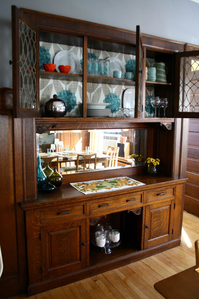 kitchen cabinet buffet cookware dining room makeover, 100% free! - deuce cities ...