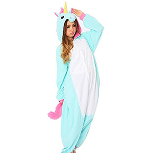 Pijamas de unicornios enteros