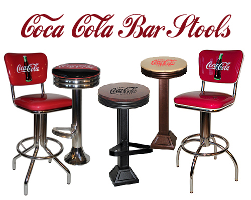 coca cola chairs and tables chair cover rental bar stools new deuster company