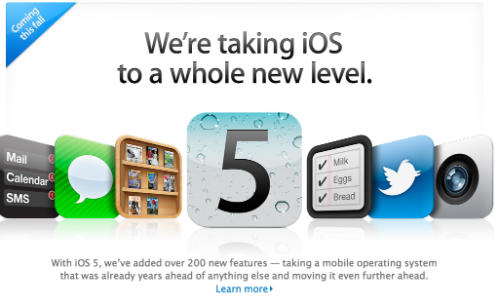 What We Should Be Excited About in iOS 5