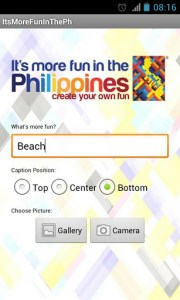 It's More Fun in the Philippines Android App screenshot