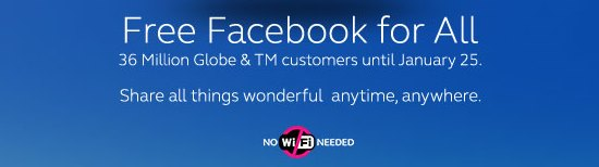 The Facts About Globe's Free Facebook Promo