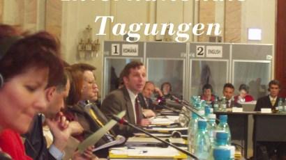 Internationale Tagungen