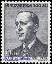 Karel-Capek-Briefmarke