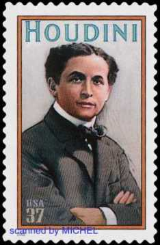 Harry-Houdini-Briefmarke-2002