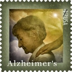 Alzheimer-Briefmarke USA 2008