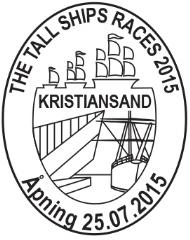Sonderstempel Norwegen Tall Ships Races 2015