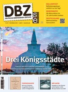 Titelbild Deutsche Briefmarken-Zeitung 23-2015