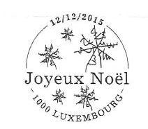 Sonderstempel Weihnachten Luxemburg