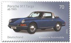 "Serie ""Klassische Deutsche Automobile"": Porsche 911 Targa"