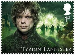 Tyrion Lannister Game of Thrones George R.R. Martin Briefmarke Stamp British Mail Post