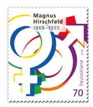 Magnus Hirschfeld Nelson Mandela Neuheit Briefmarke