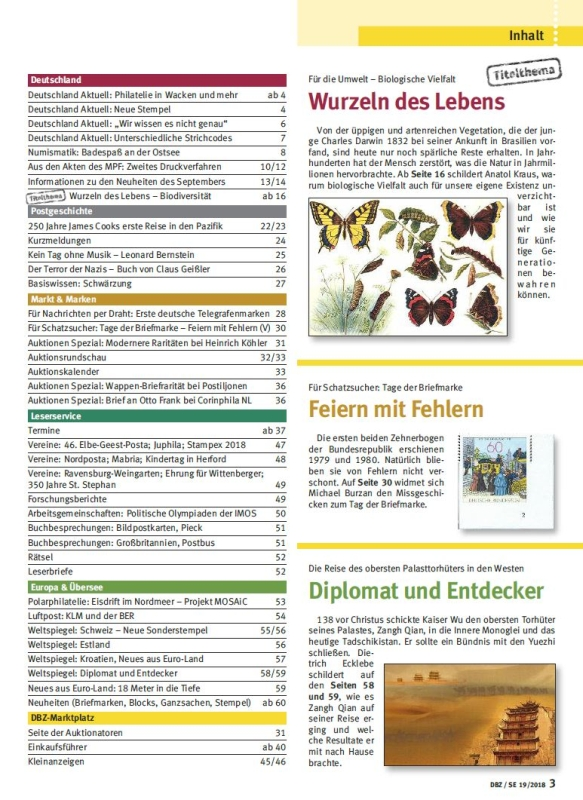 dbz_Umwelt_Biologie_Artenvielfalt_August_Inhalt_Briefmarken
