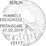 Stempel Berlin Himmelsereignisse