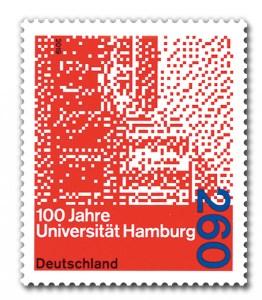 Briefmarke Deutschland Uni Hamburg