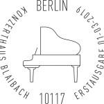 Stempel Berlin Konzerthaus Blaibach