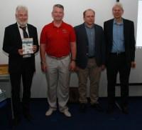 Walter Michael Hopferwieser stellte sein neues Buch – unterstützt von echten Kosmonauten.