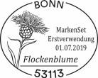 Stempel Flockenblume