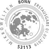 Stempel Bonn Mondgestein