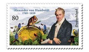Briefmarke Deutschland Alexander von Humboldt