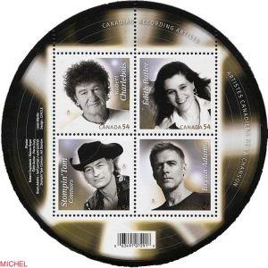 Briefmarke Kanada Bryan Adams