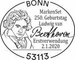 Stempel Bonn Ludwig van Beethoven