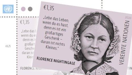 Briefmarke Vereinte Nationen Florence Nightingale
