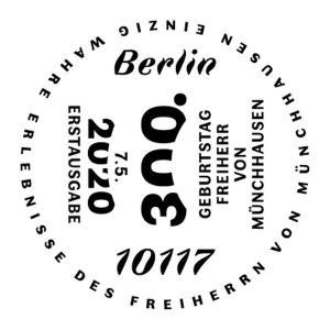 Stempel Berlin Baron von Münchhausen