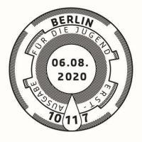 Stempel Berlin Feuerwehrfahrzeuge