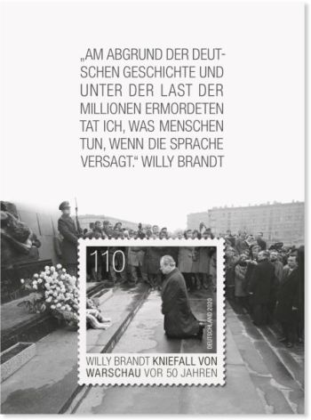 Briefmarke Deutschland Willy Brandt