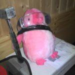 Random image: Pinky packt mit an