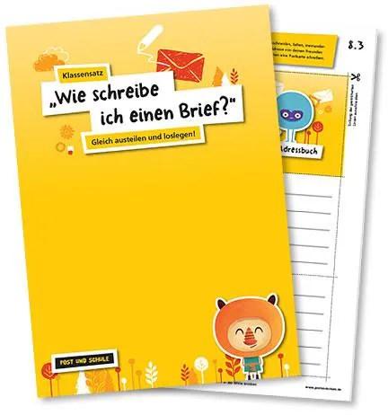Unterrichtsmaterialien | Deutsche Post | Post und Schule