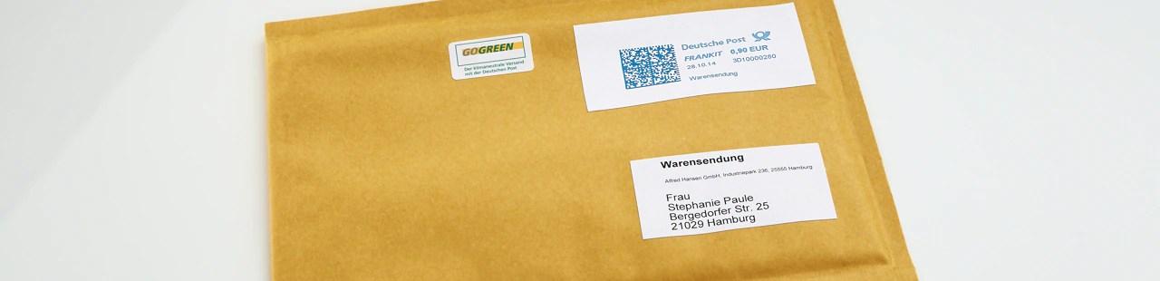 Hilfe zum Warenversand | Deutsche Post Kundenservice