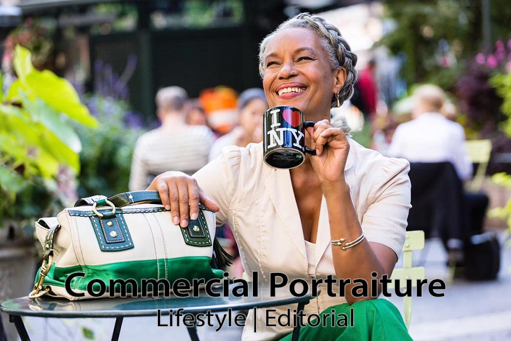 Commercial Photography: Lifestyle & Editorial Portraits