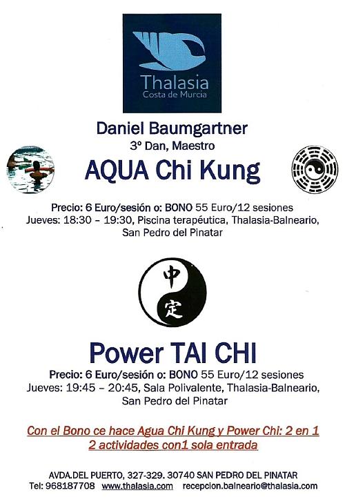 Aqua Chi Kung & Tai Chi
