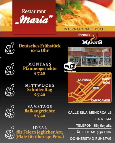Milan's - Maria