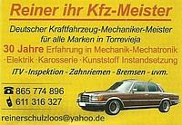 KFZ Meister Reiner